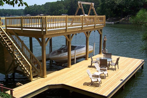 Install Deck on Dock